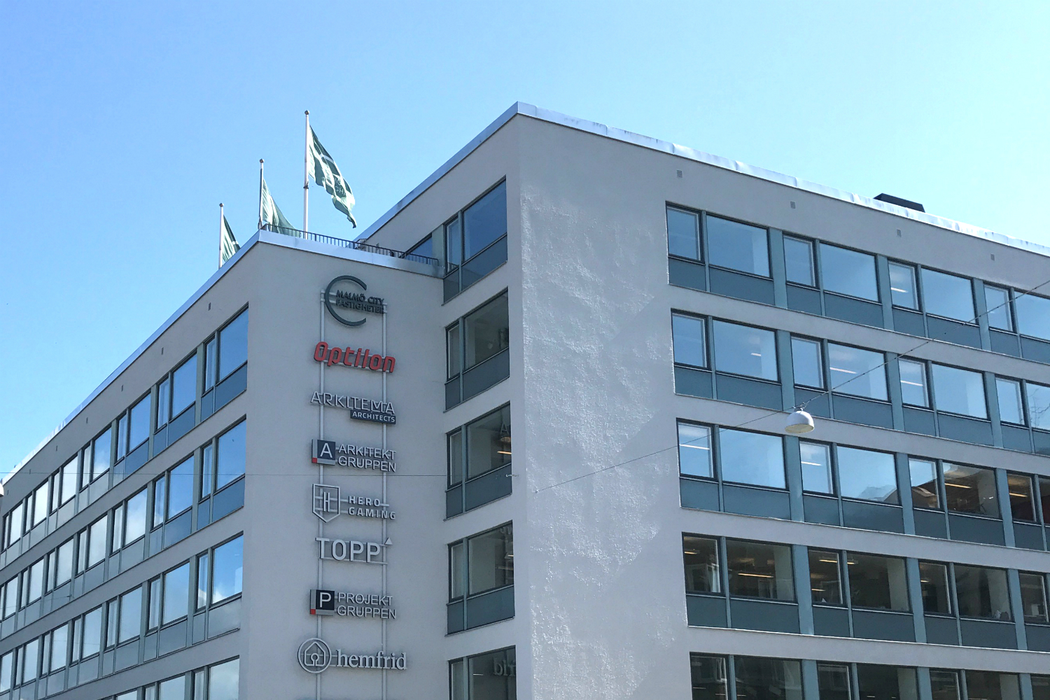 Optilons office in Malmö