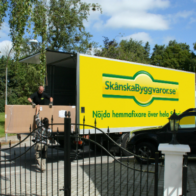 Skånska Byggvaror Truck